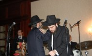 Avraham Fried & Benny Friedman Singing at Wedding in Crown Heights