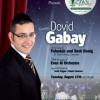 Gabay Singing at Concert on the Lawn August 17th