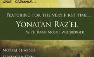Spend an Evening with Yonatan Razel