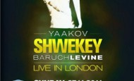 Guest Review:  Shwekey and Levine, Live in London