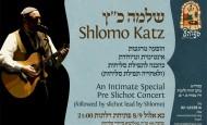 Shlomo Katz Slichot Concert