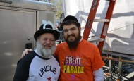 Benny Friedman, YBC and Uncle Moishy at The Great Parade