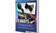 "Hillel Kapnick releases eBook ""10 Ways To Help You Make It In The Jewish Music World"""