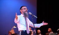 [Photos] Avraham Fried & Abie Rotenberg in Queens College