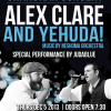 YU to Host Alex Clare and Yehuda!