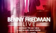 Benny Friedman in England – New Show Added