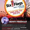 NCSY Presents Chol Hamoed @ Six Flags W/ Benny Friedman!