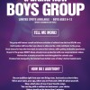 Brand New Boys Group Announcing Auditions