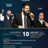 THIS SUNDAY – Benny Friedman, Yehuda Green and Lipa Live in Baltimore!