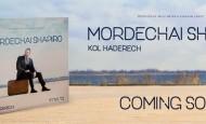 Mordechai Shapiro to Release Debut Album – Kol Haderech – Audio Preview – Cover Released