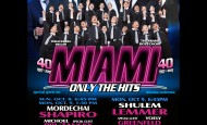 13 Days Left! The Great Chol Hamoed Event! MIAMI 40 – ONLY THE HITS!