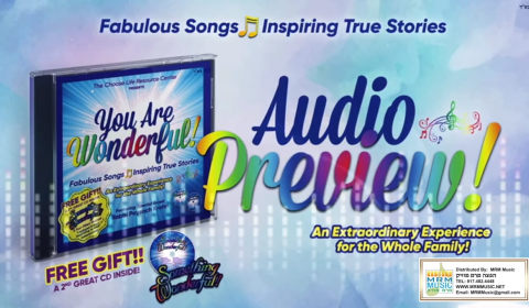 Chanukah Gift For Your Kids – You Are Wonderful! 2 CD Set.