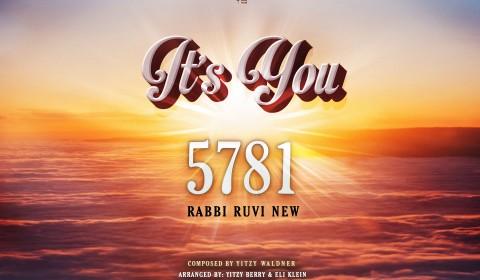 Rabbi Ruvi New – It's You!