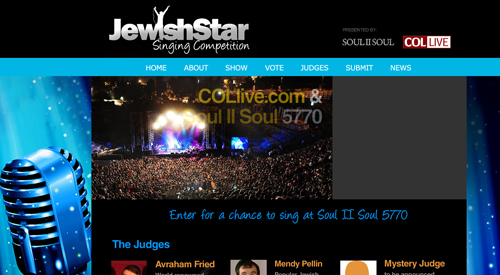 A Jewish Star Singing Competition - Mostly Music