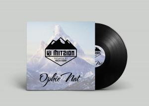 Ki Mitzion Vinyl Record PSD MockUp